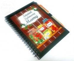 Notatnik kulinarny dla Mamy  Przetwory+ długopis