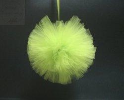 Pompon tiulowy duży jasnozielony 20cm