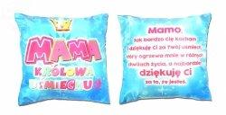 Poduszka a. MAMA Królowa Uśmeichu