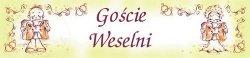 Tablica rejestracyjna ślubna Goście weselni TT51