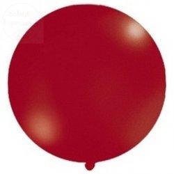 Balon metalic bordowy 1m, balon strzelający 1szt