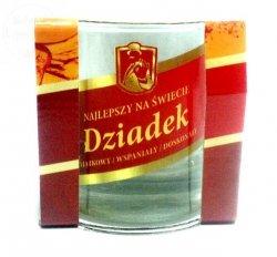Szklanka do whisky DZIADEK - 1szt