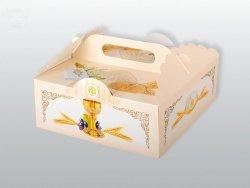 Pudełko komunijne na ciasto 1szt