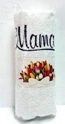 Ręcznik z haftem MAMA  50x100cm