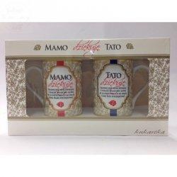 Kubki w zestawie Dziękuje MAMO / TATO nr 535