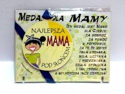 Medal podstawka dla  Najlepszej Mamy pod słońcem