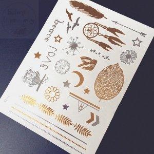 Tatuaż - 1 arkusz