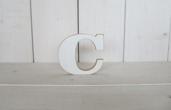 """Litera drewniana wys. 18 cm """"C"""" 1szt"""