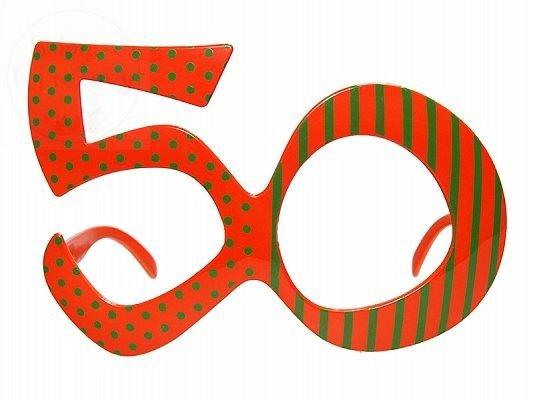 Okulary party 50 lat 1 szt OKR9-50