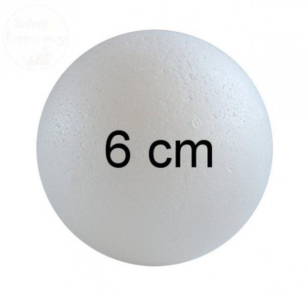 Kula styropianowa średnica 6 cm