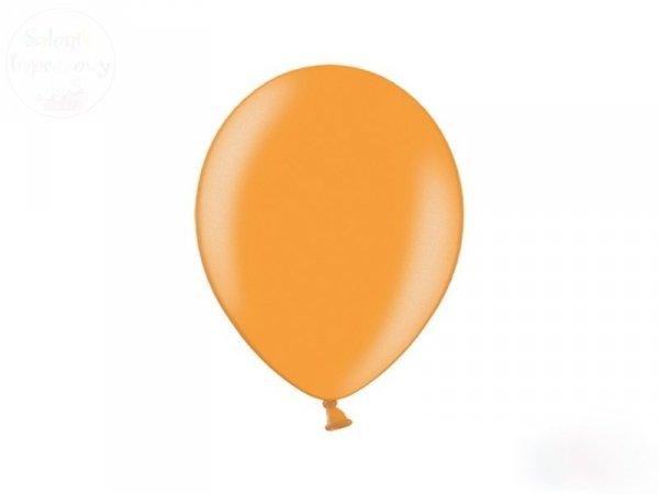 Balony 10 cali pastelowe pomarańczowe 1 szt