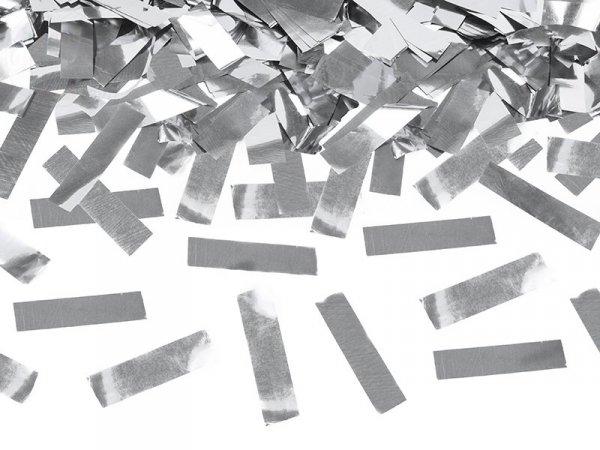 Tuba stzrelająca srebrnym konfetti 60cm