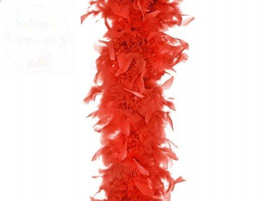 Boa 180cm czerwony 1 szt
