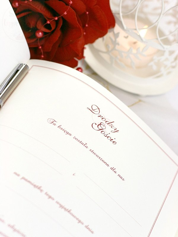 Księga gości weselnych KWP7