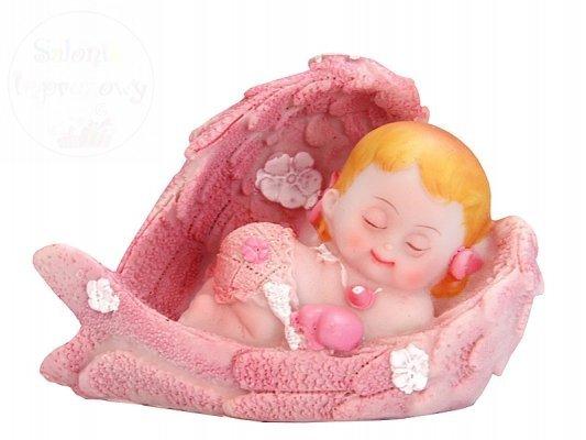 Figurka dziewczynka aniołek 10x6,5cm DF11D