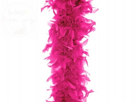 Boa 180cm  neonowy róż 1 szt