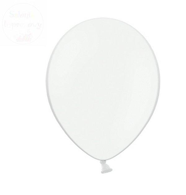 Balony 10 cali pastelowe białe 1 szt