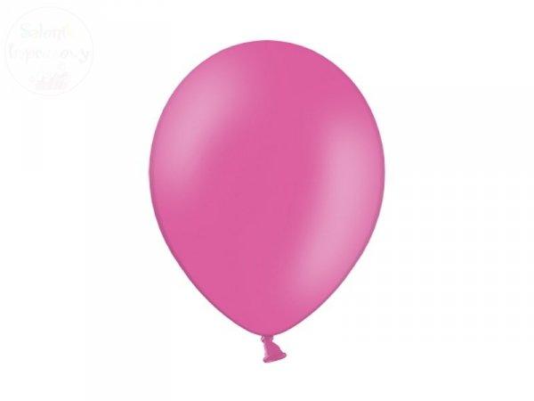 Balony 10 cali pasel ciemnoróżowe 1szt