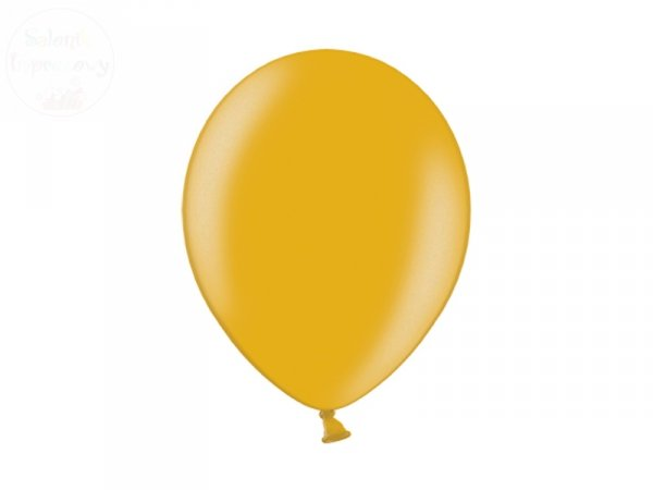 Balony 12 cali metalic złote 100 szt