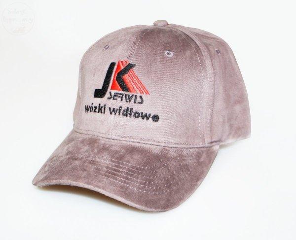 czapka haft