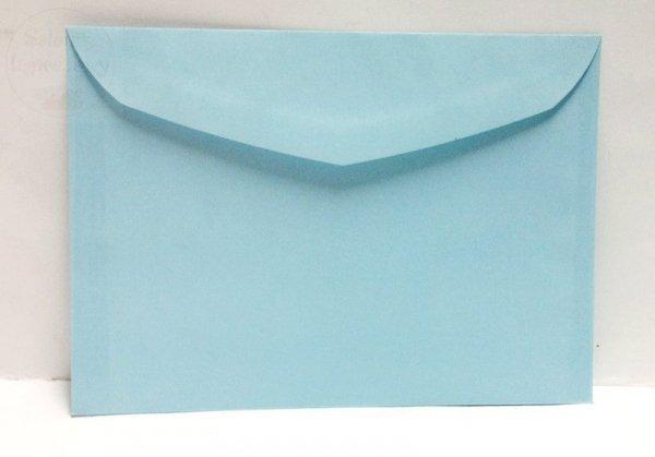 Koperta w kolorze błękitnym 17,5 x 12,5 cm