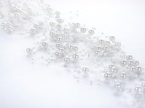 Girlanda perłowa kolor perłowy 1,3m 5szt