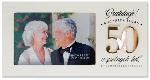 Ramka Harmony Rocznica Ślubu 50
