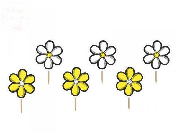 Karteczki na Piku Kwiatek 10 cm - 6szt