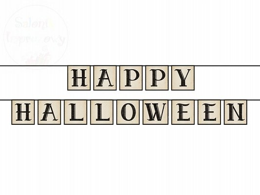 Girlanda  Happy Halloween 14 x 210cm