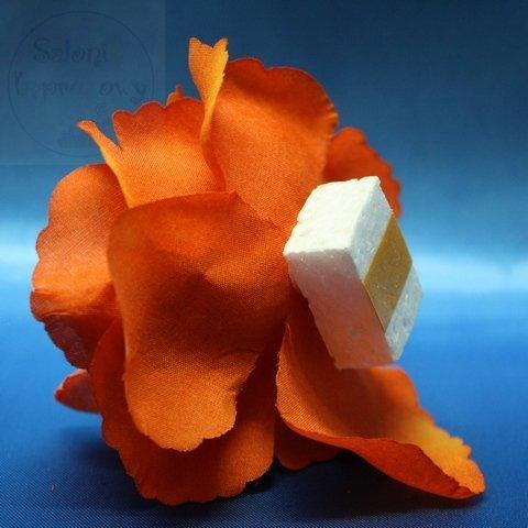 Róże do przylepienia - pomarańczowe 1 szt