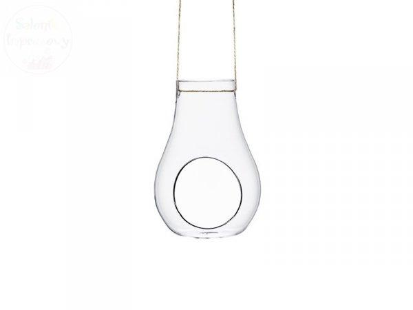 Dekoracja szklana 10,5x9,54x15 cm
