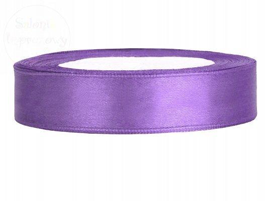 Tasiemka satynowa ciemny fiolet 12mm TS12-004