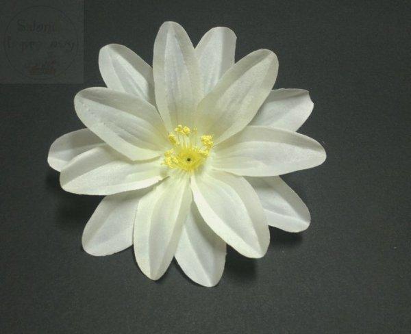 """Kwiat sztuczny """" DALIA """" w kolorze jasnokremowym"""