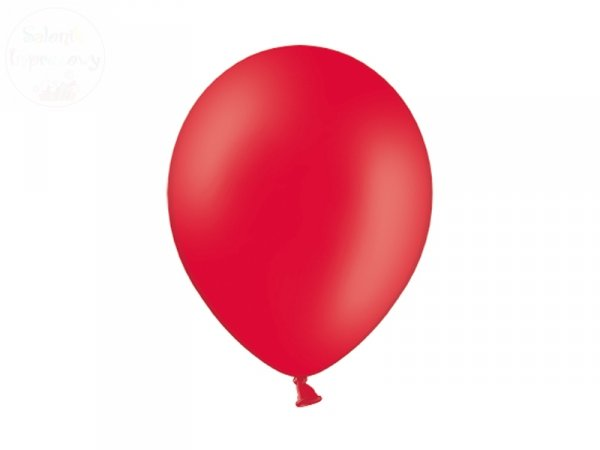 Balony 10 cali pastel czerwone