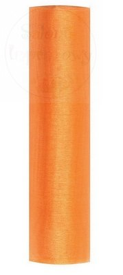 Organza 0,16x9m pomarańczowa ORP16-005