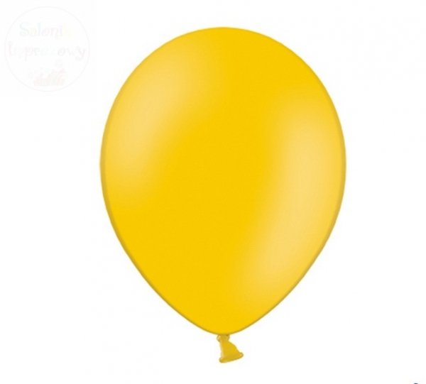 Balony pastelowe 10 cali - 23 cm jasno-pomarańczow