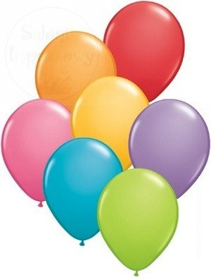 Balony 5``PASTEL mix kolor op 100szt