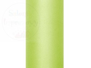 Tiul na szpulce 0,15x9 m jasnozielony