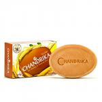 Ajurwedyjskie mydło Sandałowe z szafranem Chandrika 75g