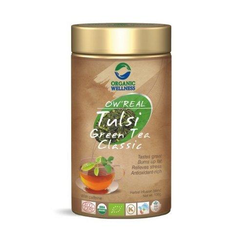 Herbata Tulsi GreenTea Classic w puszce 100g