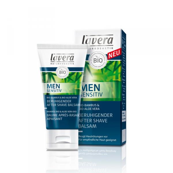 Balsam łagodzący po goleniu z bioaloesem, Lavera 50ml
