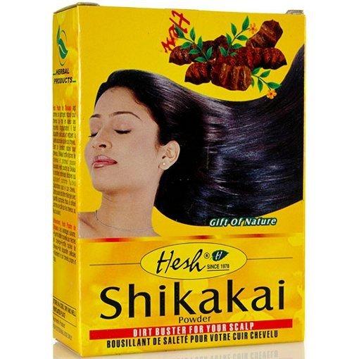 Naturalny szampon w pudrze Shikakai Hesh