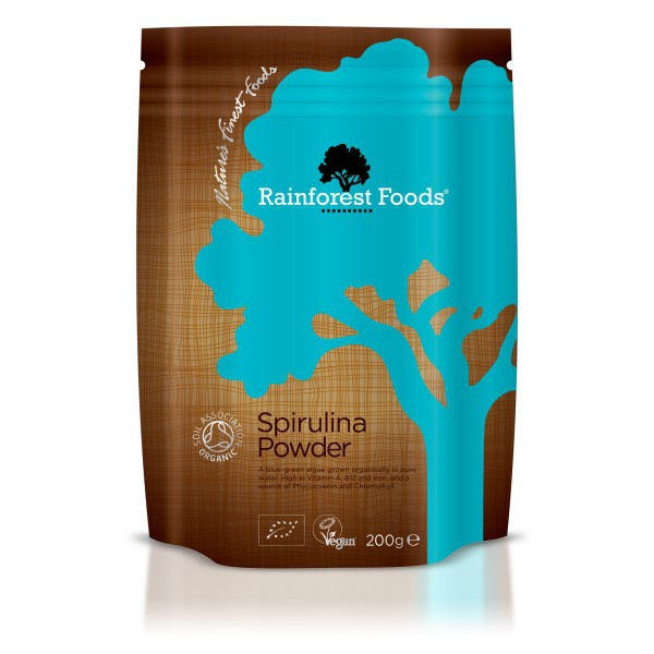 Spirulina BIO, Rainforest Foods 200g