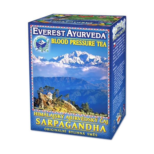 Sarpagandha - nadciśnienie tętnicze