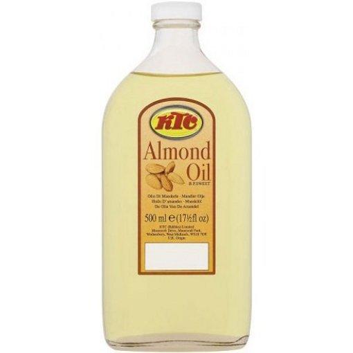 Olej migdałowy KTC 500 ml