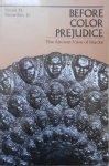 Frank M. Snowden Jr. • Before Color Prejudice. The Ancient View of Blacks