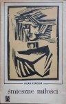 Milan Kundera • Śmieszne miłości. Obwoluta Franciszek Wyleżuch