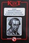 Immanuel Kant • Koniec wszystkich rzeczy. O niedawno powstałym, wyniosłym tonie w filozofii