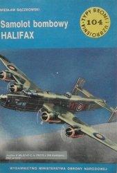 Wiesław Bączkowski • Samolot bombowy Halifax