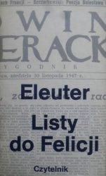 Eleuter [Jarosław Iwaszkiewicz]• Listy do Felicji